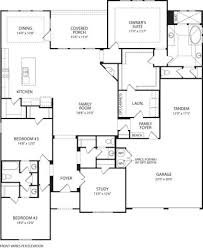Drees Homes Floor Plans by Archer At Bryson Leander Tx