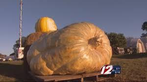 Lehner Pumpkin Farm by Record Breaking Pumpkin Grown By Ri Man Wivb Com