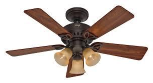 hunter 20438 beacon hill 42 inch 3 light 5 blade ceiling fan new