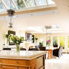 Open Plan Kitchen Dining Area Family Room Extension Ideas