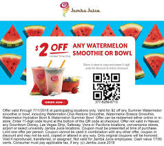 Jamba Juice Coupons - $2 Off A Watermelon Smoothie At Jamba Juice Jamba Juice Philippines Pin By Ashley Porter On Yummy Foods Juice Recipes Winecom Coupon Code Free Shipping Toloache Delivery Coupons Giftcards Two Fundraiser Gift Card Smoothie Day Forever 21 10 Percent Off Bestjambajuicesmoothie Dispozible Glass In Avondale Az Local June 2019 Fruits And Passion 2018 Carnival Cruise Deals October Printable 2 Coupon Utah Sweet Savings Pinned 3rd 20 At Officemax Or Online Via Promo