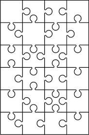 DXF CDR EPS File For CNC Plasma Or Laser Cut Puzzle Pattern