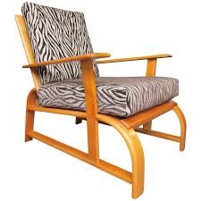 Streamline Modern Lounge Chair In The Manner Of Gilbert Rohde At 1stdibs