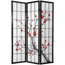 Cherry Blossom Curtain Panels by Room Dividers Home Accents The Home Depot