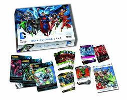 amazon com dc comics deck building game cards toys games