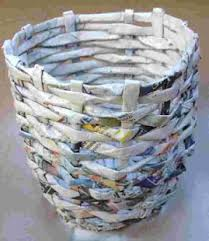 Newspaper Art And Crafts