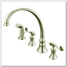 Kohler Fairfax Kitchen Faucet Brushed Nickel by Kohler Revival Kitchen Faucet Brushed Nickel Sinks And Faucets