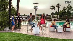 Portable Patio Misting Fans by Aurora 360 Mist Fan With Light In Dubai Furnishes And Lights Up