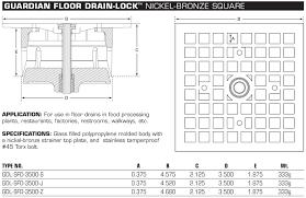 Josam Floor Drain 30000 by 100 Josam Floor Drain Strainer Drains U0026 Traps Floor