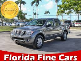Used 2017 NISSAN FRONTIER Sv Truck For Sale In MARGATE, FL | 91073 ...