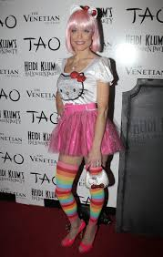 Heidi Klum Halloween 2011 by 2011 Celebrity Halloween Costumes Toofab Com