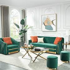 chesterfield edelstahl polster sitz garnitur sofa wohnzimmer 3 2 textil