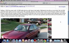 Craigslist Omaha - Used Cars And Trucks For Sale By Owner Available ... Craigslist New Orleans Cars And Trucks Awesome With Aid Roll Project Car Hell Governmentgifted Gullwings Edition Bricklin Sv1 Wichita Used For Sale By Private Owner Popular Aaron Robinson Cfessions Of A Slave To And Driver No East Curbed For 2500 Could You See Yourself In This 1989 Suzuki Sidekick Find 1998 Acura Integra With 2006 Bmw 5 Series Looks 2014 Harley Davidson Street Glide Motorcycles Sale Update Pics More Vehicle Scams Google Wallet Ebay Twenty Images