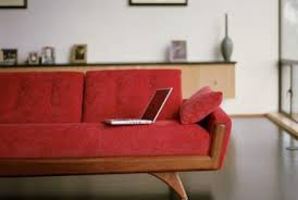 how to furnish a living room with a red sofa home guides sf gate