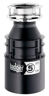 Garbage Disposal Backing Up Into Single Sink by Insinkerator Badger 5 1 2 Hp Garbage Disposal Review