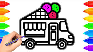 How To Draw Ice Cream, Truck, Coloring Pages For Kids | Art Colors ... Illustration Ice Cream Truck Huge Stock Vector 2018 159265787 The Images Collection Of Clipart Collection Illustration Product Ice Cream Truck Icon Jemastock 118446614 Children Park 739150588 On White Background In A Royalty Free Image Clipart 11 Png Files Transparent Background 300 Little Margery Cuyler Macmillan Sweet Somethings Catching The Jody Mace Moose Hatenylocom Kind Looking Firefighter At An Cartoon