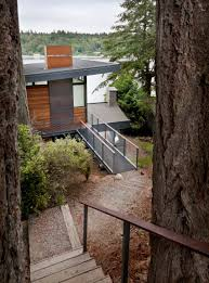 100 Lamp Architecture Waterfront Home Near Seattle Is Lifted On Bridgelike
