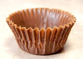 Paper Cupcake Holders An Edible Chocolate Wrapper Called