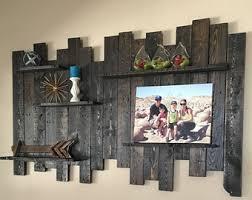 Reclaimed Wood Wall Shelf Decor Pallet