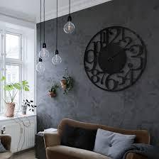 wanduhr aus acrylglas modern ø 70 cm