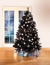 Black Colorado Traditional Artificial Christmas Tree 65ft Tall 4ft Wide