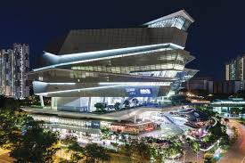 Jangho Curtain Wall Singapore Pte Ltd by The Star Designed By Andrew Bromberg For Aedas Architect