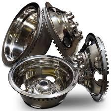 100 16 Truck Wheels Amazoncom Wheel Simulators Stainless Steel Inch Set Of 4 In