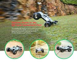 100 Waterproof Rc Trucks For Sale Dropshipping For VKAR RACING BISON V2 110 80 90kmh 24GHz 2CH