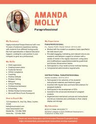 Paraprofessional Resume Example Paraprofessional Resume No Experience Lovely A 40 Student Teacher Aide Resume Sample Lamajasonkellyphotoco Special Education Facebook Lay Chart Cover Letter Sample Literature Review Paraeducator New Lifeguard Job Description For Best Of Free Format Letters Support Worker Unique Example Ideas Collection Law For
