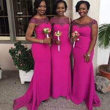 2016 new south african mermaid bridesmaid dresses cap sleeves lace