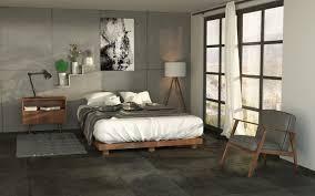 realistisch 3d modell szene schlafzimmer schickes loft schlafzimmer 3d modell turbosquid 1284821