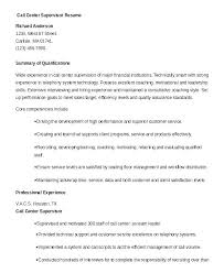 Call Center Director Resume Examples Example 9 Free Word