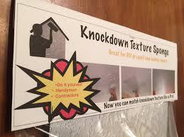 Homax Ceiling Texture Knockdown by Amazon Com Knockdown Texture Drywall Repair Sponge Home Improvement