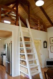 Amazing Loft Stair For Tiny House Ideas 45