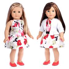 Dressy Doll Playset 6 Pieces 3 Full Mix And Match 18 Inch Doll