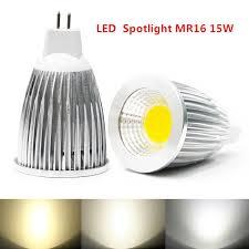 10pcs lot bright mr16 cob 9w 12w 15w led bulb l mr16 12v
