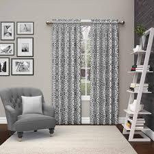 bathroom amazing zig zag blackout curtains gray white curtain