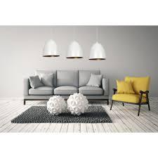 pendelleuchte weiß gold verstellbar e27 wohnzimmer