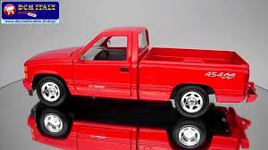 1992 Chevy 454SS Pick Up Truck, Red - Showcasts 73203 - 1//24 Scale ...