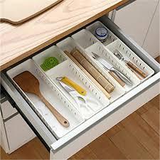 plastik besteck aufbewahrung schubladen heim küche organizer