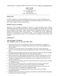 Sample Resumes For Managers Resume Format Management Position 3 Stylish Inspiration