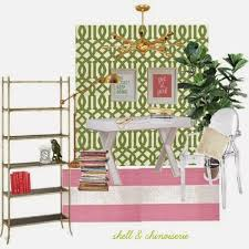 World Market Josephine Desk Green by Shell And Chinoiserie Seaside Style With An Eastern Accent