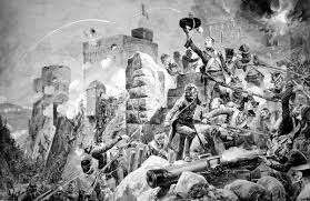 what is the definition of siege siege of badajoz 1812