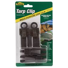 Homax CinchTite Multi Purpose Tarp Clip 4 Pack 2615 The Home Depot