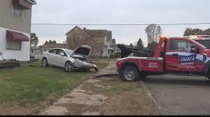 100 Tow Truck Columbus Ohio Woman Hospitalized After Crashing Vehicle Into Shadyside