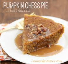 Pumpkin Pie With Pecan Praline Topping by Caramel Potatoes 10 Irresistible Holiday Pies