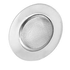 stainless steel bathroom kitchen mesh sink strainer filter barbed