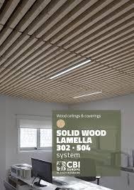 104 Wood Cielings Cbi Europe Ceilings Lamella