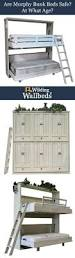 Diy Murphy Bunk Bed by Wilding Bunk Bed Features U2022 All Wood Construction No Particle