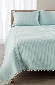 Bella Lux Bedding by Levtex U0027pom Pom U0027 Reversible Quilt Nordstrom